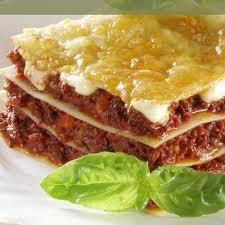 Plats principaux : Lasagnes