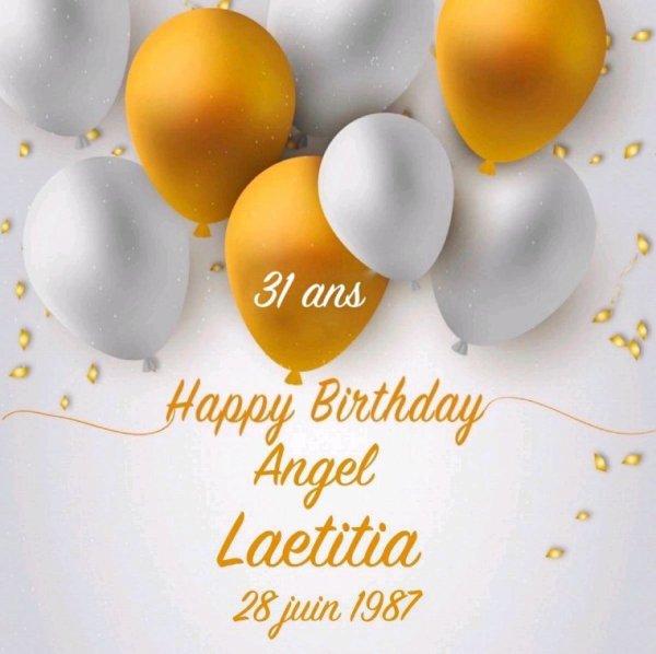 Anniversaire Laetitia
