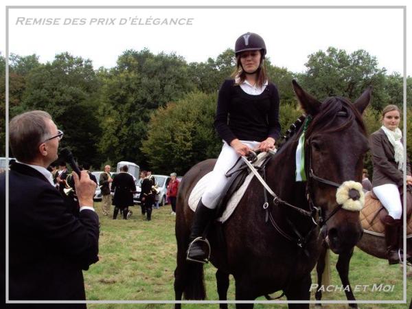 St Hubert 2010, j'ai encore eu un prix d'élégance :D Avec Mélanie & Niki ;)