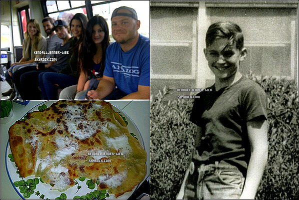 . .  Ce 16 mai : Kendall a mis des photos sur son twitpics ou on voit kylie et ces collègues,un garçon et une crêpe.Tu penses quoi de kendall et de sa soeur ?    .