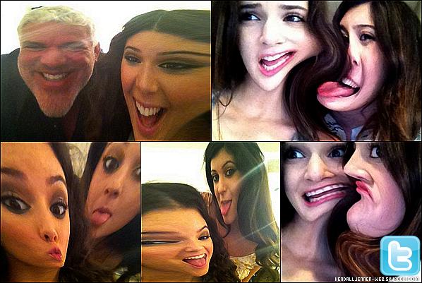 """. .  Ce 21 mai 2011 : Kendall et Kylie ont mis des photos sur leur Twitter lors de la séance de photo pour la marque """"OPI"""".Comment trouves-tu les photos ? As-tu aimé ? PS : Moi je trouve que les filles sont rigolotes.Vos avis ?"""