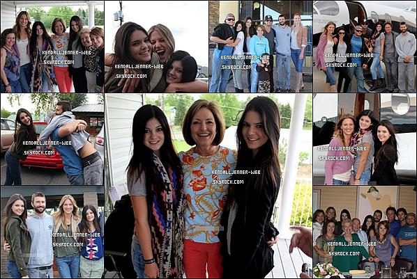 . .  Ce 23 mai : Kendall et kylie ont fait un petit vacance pour rendre viste aux familles (côté Jenner).PS : Je trouve magnifique Kendall et Kylie elles sont trop belles comme d'habitude.Et vous vous trouvez comment ?Vos avis ?   .