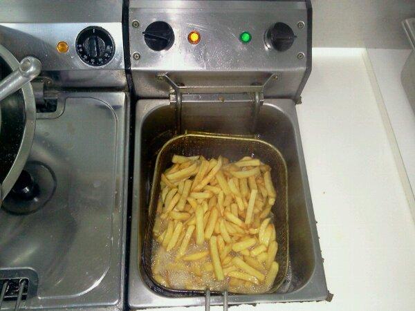 preparation des frites