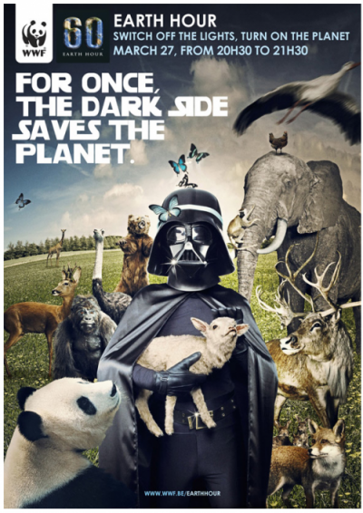 Earth Hour 2010 : For once the dark side saves the planet !