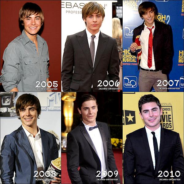 """*  Zacky , a bien évoluée depuis l'année 2005 . Quel les ton années préféré ?  """"Personnellement j'aime beaucoup l'année 2006 ♥.♥ ! *"""