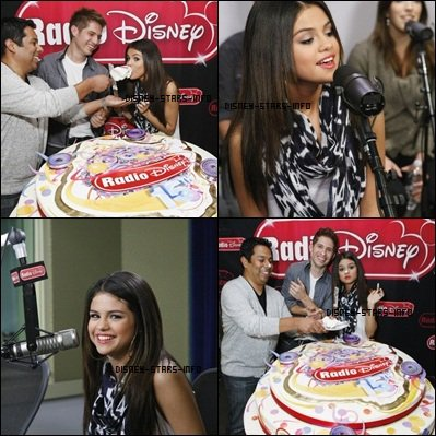 Selena dans un interview sur La Radio Disney