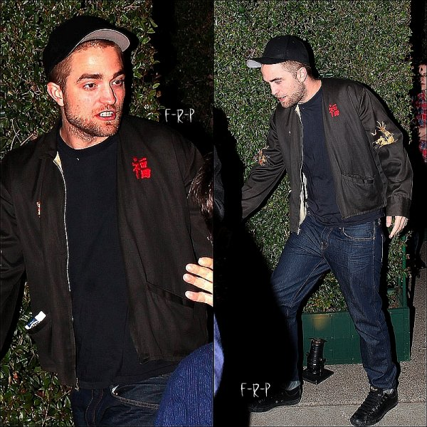 24.02.12: Rob et Kristen quittant la fête 'William Morris Endeavor' dans Brentwood.