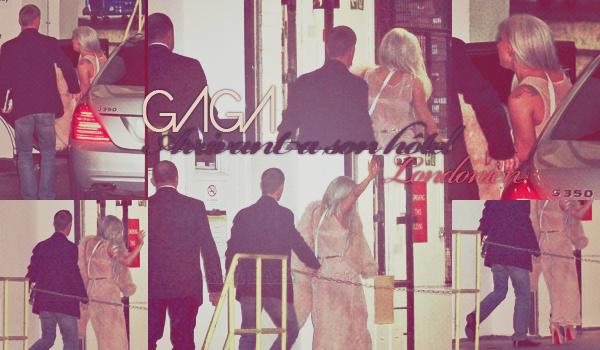 N°2 ~ Gaga Arrivant A Son Hôtel Londonien