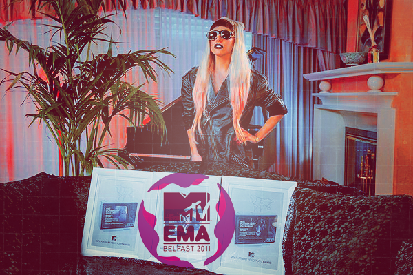 N°4 ~ MTV EUROPE MUSIC AWARDS 2011