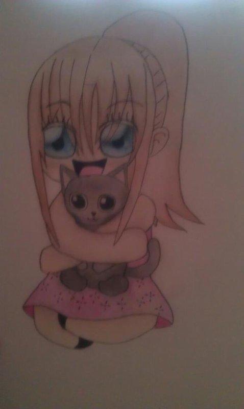 voici un des dessin que vous trouverait sur ma page