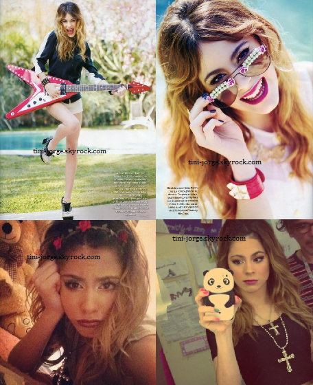 Caras+ Paris Match+ Tini défile+ Tini+ Jorge+ Photos des acteurs !♥