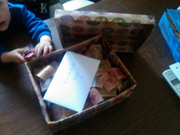 Le cadeau d anniv surprise de ma soeur ;)
