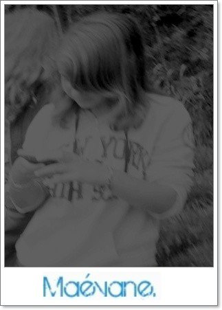Ma grande soeur.' <3