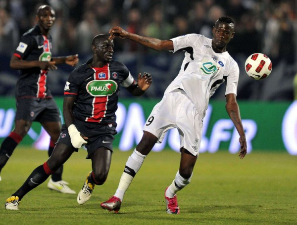 Coupe de France : Demi-Finales : Mercredi 20 Avril 2011 : Angers - Paris-SG : 1 - 3