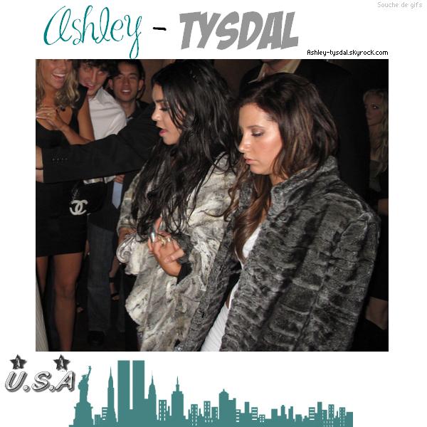 18/12 : Ashley à l'anniversaire de sa BFF Vanessa Hudgens à Las Vegas