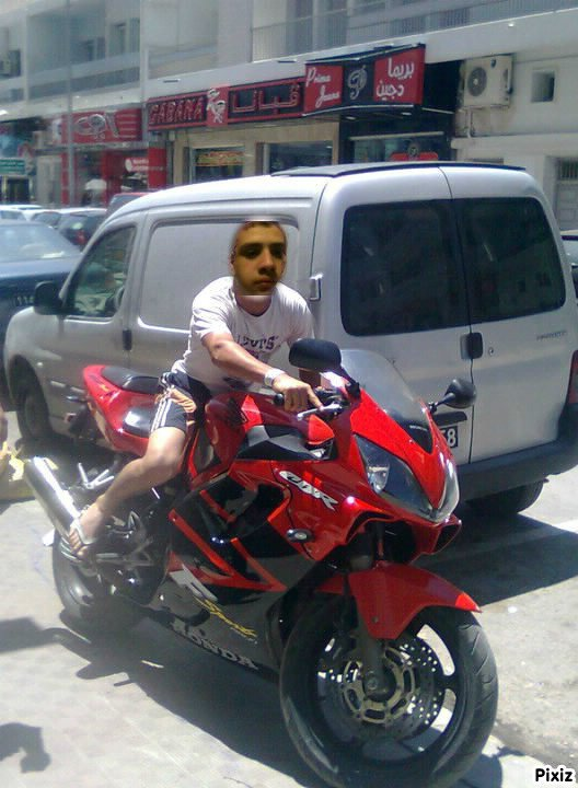 moi en mode moto