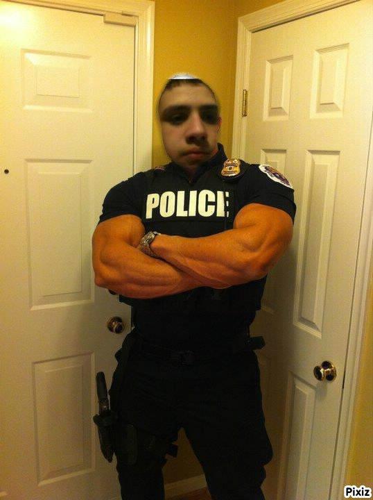 moi en mode police