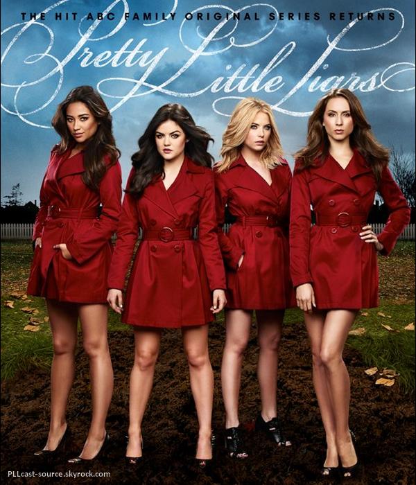 News PLL Poster promo de la saison 4 avec les liars en RedCoat, vos avis ?