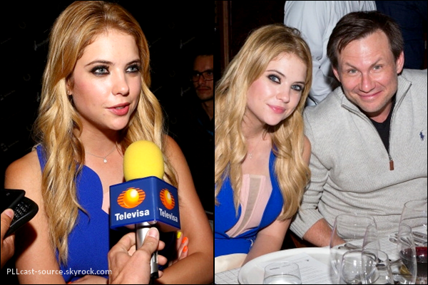 27/04/13 Ashley était au riviera maya film festival à Cancun au Mexique.