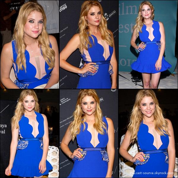 27/04/13 Ashley était au riviera maya film festival à Cancun au Mexique.