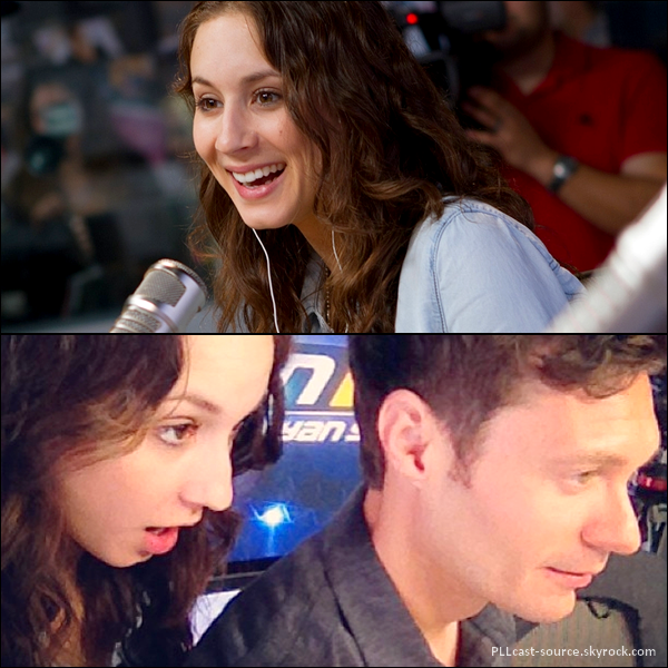 29/04/13 Troian Bellisario en interview radio « On Air with Ryan Seacrest ».