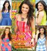 """Photoshoot Lucy Hale fait la couverture du """"seventeen"""" juin/juillet 2013."""