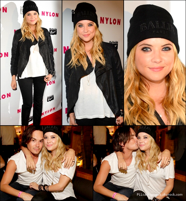 "14/05/13 Ashley et Tyler Blackburn à la soirée ""young hollywood party"" de Nylon."