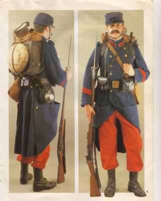 La tenue de Lazare Ponticelli dans l'armée française