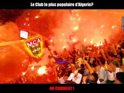 le club le plus populaire d'algerie  et d'Afrique  aussi