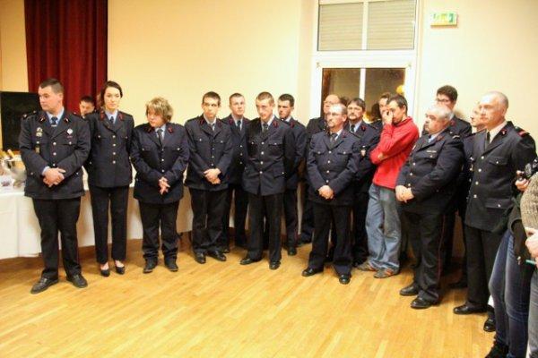ANOST : Des diplômes et des galons pour la Sainte-Barbe  AUTUN INFOS