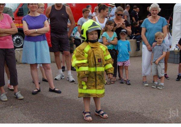 80° anniversaire du centre d'incendie et de secours d'Anost LEJSL 1°