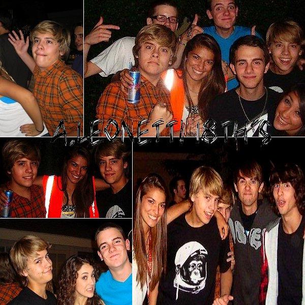 . 4 Avril 2009 - Alexander Leonetti 18th's Birthday Cole et Dylan se sont lachés ! Ca fait parfois du bien ! .