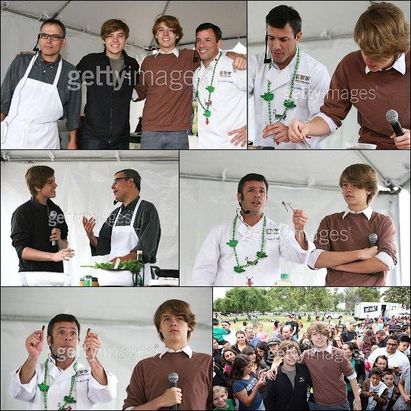 . 16 Mai 2011 ~ Big Fair Event Et oui! De nouveaux candids des jumeaux ! Ils sont enfn sortis pour se rendre au Big Fair Event où ils ont apparament fait la cuisine ! : ) Ils nous avaient manqué ... .