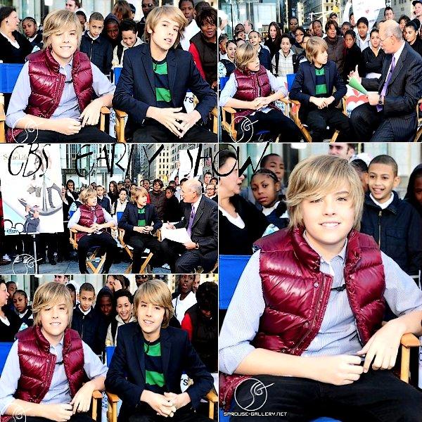 . 17 Juin 2011 - Article flashback : CBS Early Show En ce moment, les jumeaux ne sortent pas beaucoup alors je vous propose de découvrir ou re-découvrir les photos du CBS Early Show qui a eu lieu le 17 Octobre 2008. Les garçons étaient vraiment trop craquants ♥ .