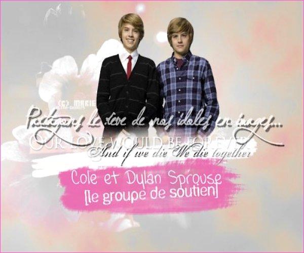 . 5 Juillet 2011 - Un magnifique montage + Rencontre avec Cole & Dylan Un énorme merci à une superbe fan Ultra-Cookies .