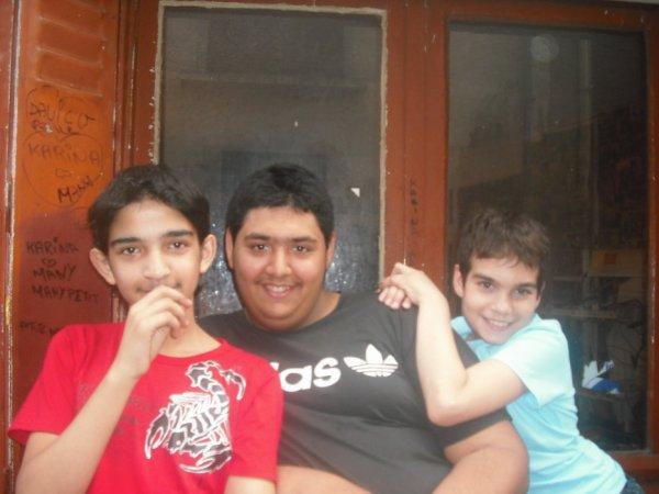 nous 3 les meilleure amis du monde