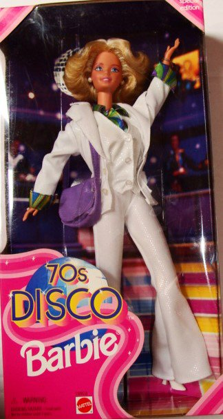 70's Disco Barbie