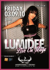 LUMIDEE 03.09.2010 @ PHENIX CLUB in RUMST - Belgium
