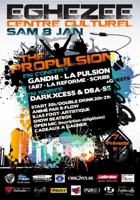 Rdv hip-hop le 08.01 PROPULSION + 04.02 SETH GUEKO !