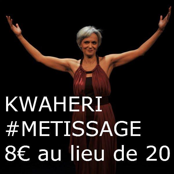 KWAHERI jusqu'au 26 janvier au Theatre VARIA à 8¤ au lieu de 20¤ avec Chronyx
