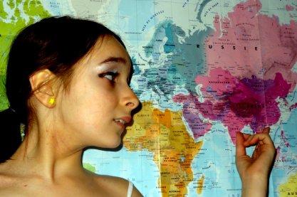 '' J'ai beau faire le tour du monde , tout me ramène à toi.'
