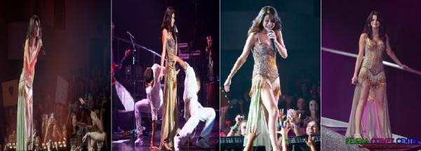 Selena était à Clearwater en Floride pour son deuxième concert le samedi 30 juillet.