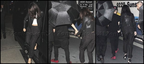 18/11/2012: Selena et Justin à l'AfterParty des American Music Awards 2012