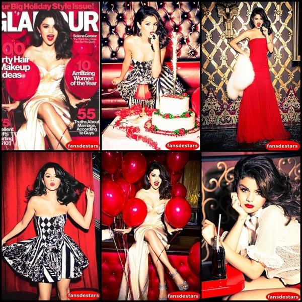 Selena photoshoot Ellen Von Unwerth 2012 pour le magazine GlamourUS <3