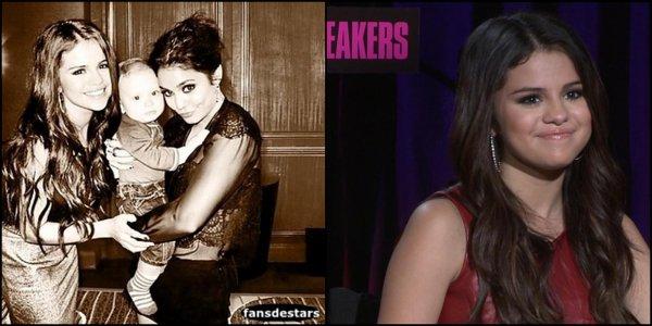 08/01/2013 : Selena a posté une photo d'elle et de Vanessa Hudgens sur facebook :)