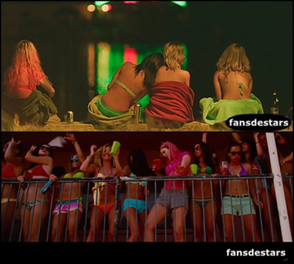 Quelques photos du film Spring Breakers !!