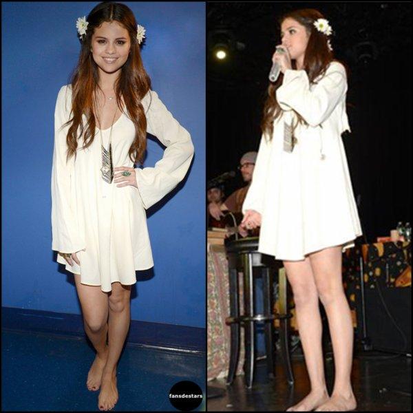 19/01/2013 : Selena prenant des photos avec ses fans au Meet&Greet du concert caritatif au profit de l'UNICEF à New York (après le concert)