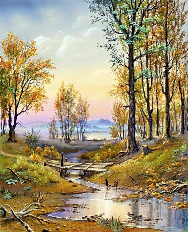 PAYSAGES DE VIKTOR TSYGANOV
