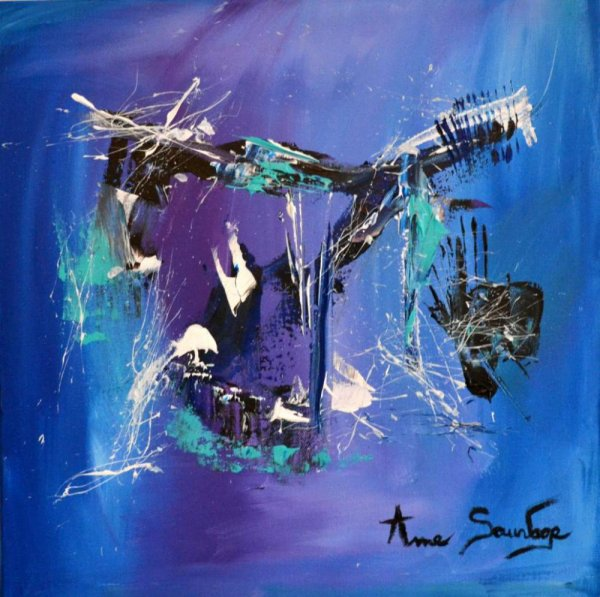 AME SAUVAGE/ abstrait