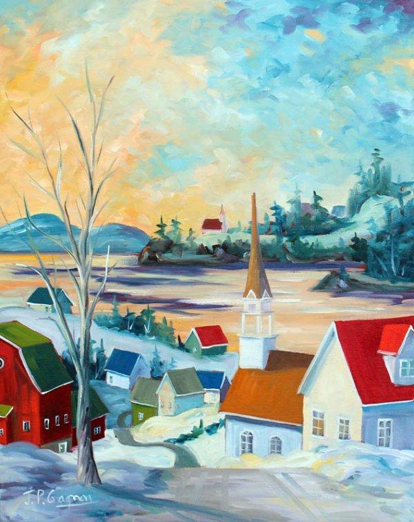 JEAN PIERRE GAGNON  artiste canadien